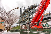 Wrigley Construction in snow 3/23/15
