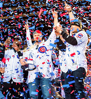 Cubs celebrate World Series Win 11/4/16 Grant Park, Chicago