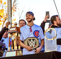 Kris Bryant and Tom Ricketts