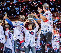 Cubs 2016 Celebrating World Series Win!